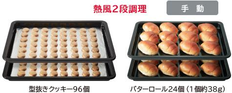 熱風2段調理