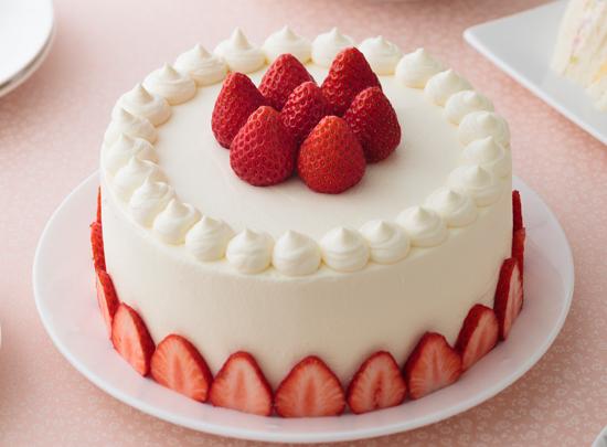 スポンジケーキ(デコレーションケーキ)