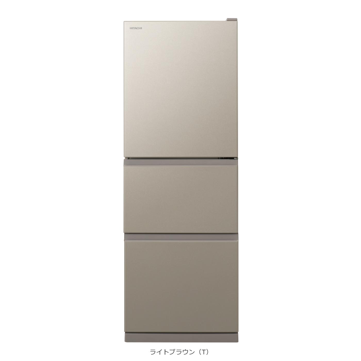 日立 片開き3ドア 冷凍冷蔵庫 R-27KV